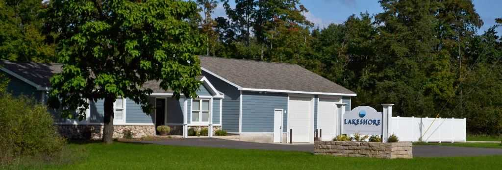 Lakeshore Custom Homes office located at 13474 Honor Hwy, Beulah, Michigan 49617