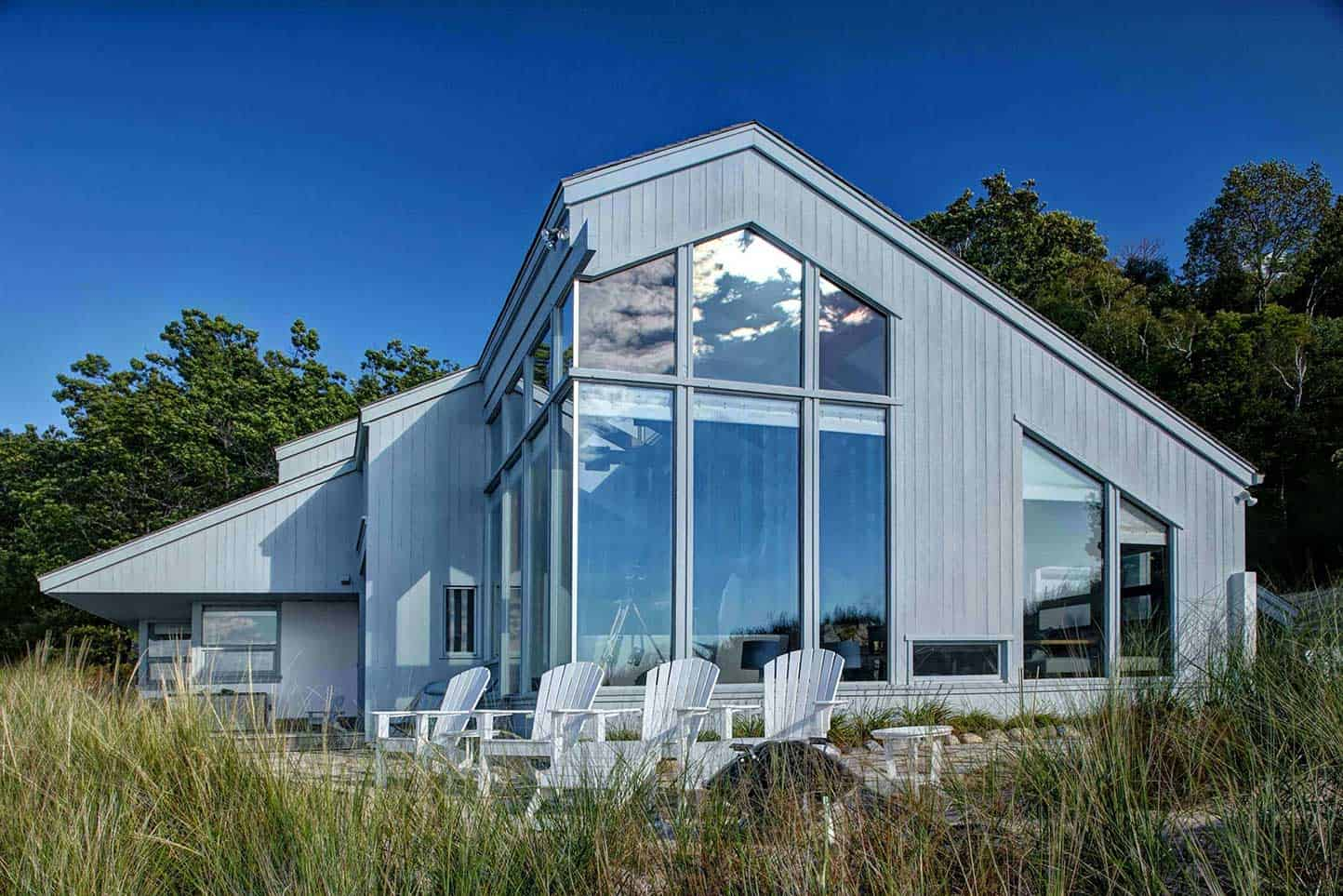 Contemporary Home on a Lake Michigan Critical Dune - featured image